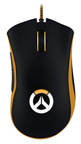 Razer DeathAdder Chroma Overwatch Edition - Chroma Enabled RGB Ergonomic Gaming Mouse - World's Most Precise Sensor - Comfortable Grip - The Esports Gaming Mouse