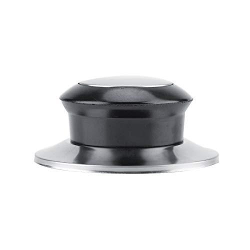Puseky - Set di 5 coperchi resistenti al calore per pentole e padelle e maniglie di sollevamento per la casa e la cucina