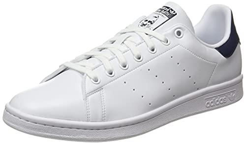 adidas Stan Smith, Sneaker Hombre, Footwear White/Footwear White/Collegiate Navy, 42 EU