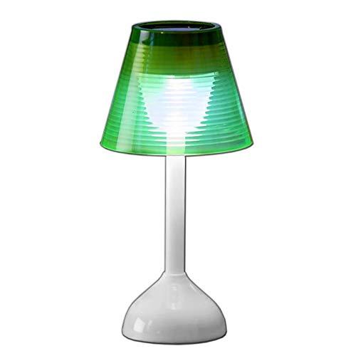 Solar LED Tischlampe Kunststoff Solarleuchte Lampe Tischleuchte Solarlampe Garten Beleuchtung Solarbetriebenes Tisch Dekolicht