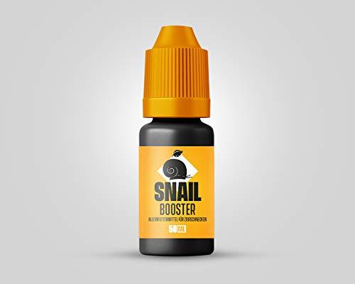 NatureHolic Snail Booster - Futter für Schnecken im Aquarium – Aufzucht - 30 ml