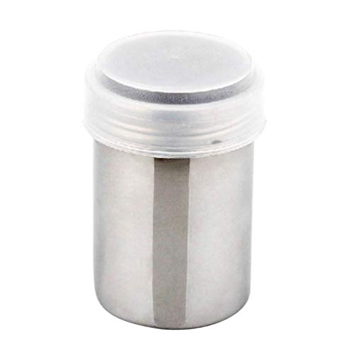 HJUYV-ERT Olla de condimento de Acero Inoxidable Botellas de Especias vacías Salero Dispensador de condimentos Contenedor de Tarro para Barbacoa Cocina