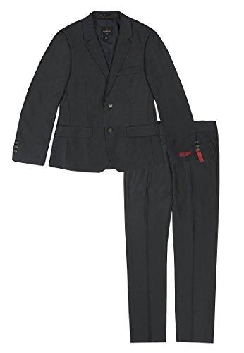 Lemmi Jungen Slim line MID Anzug, Grau (Phantom 1410), 164