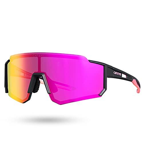 BAISHOU Gafas de sol polarizadas unisex, adecuadas para deportes al aire libre, como ciclismo y running F