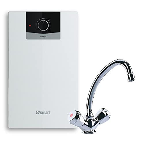 Vaillant Warmwasserspeicher, Untertischgerät eloSTOR VEN 5/7 U plus,2-Griff-ArmaturVNU 2 (302595), 230 V, Kapazität: 5 Liter, Niederdruckspeicher, Elektro-Kleinspeicher, 0010021141