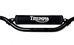 Mousse de Guidon Triumph Logo Argent