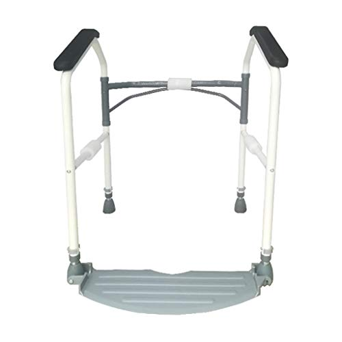 Bathroom Wheelchairs Toilet Handrail Bathroom Grab Rails Punch Free Toilet Stainless Steel Handrail Foldable Elderly Pregnant Women Safe and Toilet Safety Frames