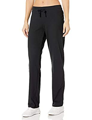 Hanes Women's French Terry Pant, Black, Small
