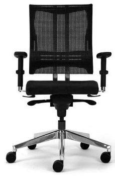 Nowy Styl Net Motion Bürostuhl mit 3D Armlehnen Schwarz