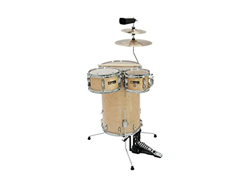 Cocktail Schlagzeug TROPICEUR, Ahorn, natur - Steh-Drumset aus Holz / Stehschlagzeug natur - klangbeisser