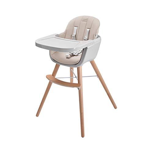CML Salle à bébé Chaise Enfant Chaise réglable Sitting Enfant Portable Multifonctionnel Manger bébé Siège de Table Jaune Facile à Utiliser (Color : Champagne)