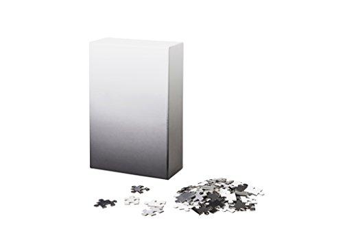 Areaware gradiente Puzzle–negro/blanco