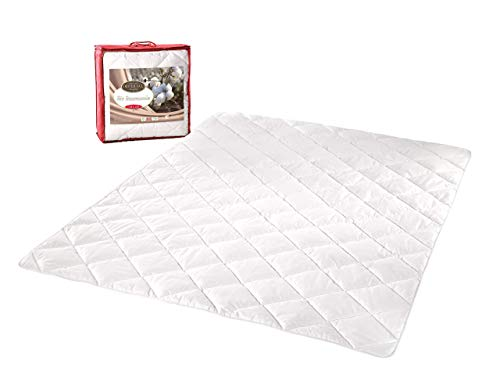 Kaliope Premium Bettdecke 135 X 200 cm | Ideal für Allergiker | Bio Baumwolle | GOTS Zertifikat | Oeko-Tex | Atmungsaktiv | VEGAN