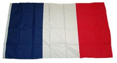 MM Flaggen/Fahnen, mehrfarbig, 150 x 90 x 1 cm, 16154 Frankreich