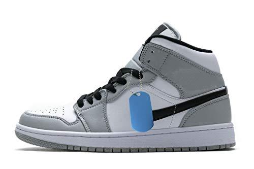 1 medias zapatillas de baloncesto Fitness Fashion Basketball Sneakers Zapatillas de deporte hombre mujer Multicolor Size: 36 EU