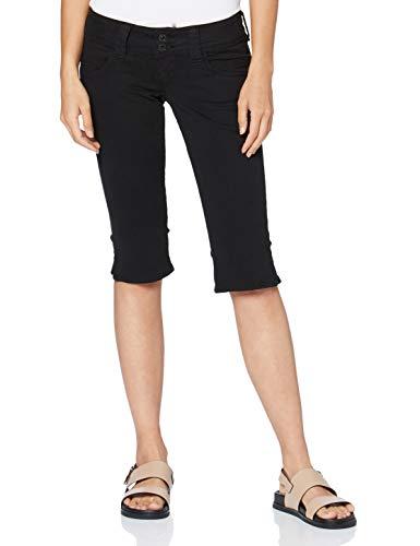 Pepe Jeans Bermuda, Nero (Black 999), W (Taglia Produttore: 28) Donna