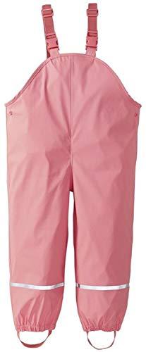 lupilu Matsch- und Buddelkleidung für Mädchen ungefüttert (Latzhose rosa, 98/104)