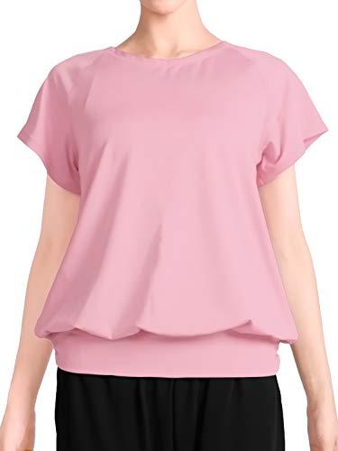 [プラネットシー] Tシャツ ヨガウェア フィットネス レディース トップス Planet-C pc-232