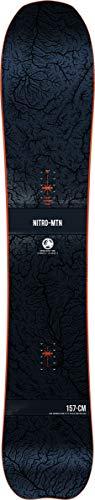Nitro Herren Mountain BRD´21 Snowboards, Multicolour, 163