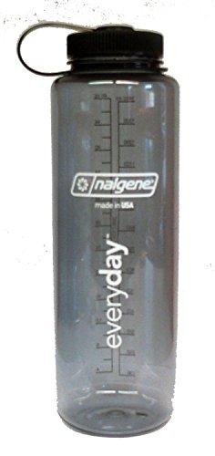 Nalgene 'Everyday Weithals Silo' - 1,5 L, grau mit Deckel schwarz