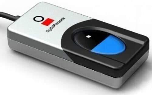 Digital Persona USB captura biométrico lector de huellas dactilares/escáner/sensor! URU4500!