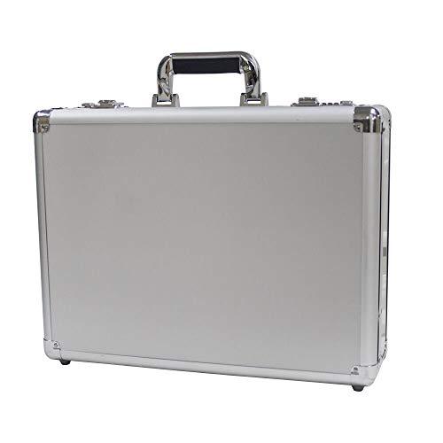 Aluminum Hard Case Briefcase Silver Toolbox Professional Carrying Case Aluminum Flight Cases Portable Equiment Tool Case