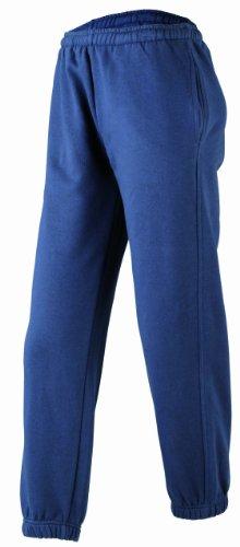 JAMES & NICHOLSON Laufhose Jogging Pantalon De Sport, Bleu (Navy), (Taille Fabricant: X-Small) Garçon