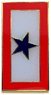 Miami Wholesale Blue Star Military Service Flag Banner Lapel Hat Pin Marines Army Navy Air Force