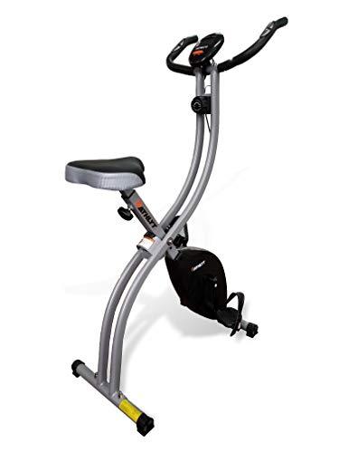 Athlyt - Bicicleta estática, negra