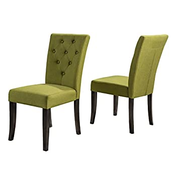 Christopher Knight Home Nyomi Fabric Dining Chair Apple