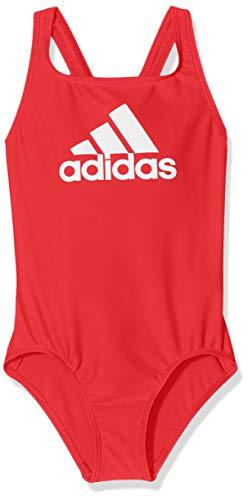 adidas Mädchen Badge of Sport Badeanzug, Active Pink, 116