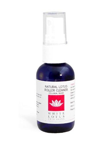 White Lotus Anti Aging - Natürlicher Derma Roller Stamp Reiniger 50ML - sicher und leicht anzuwenden