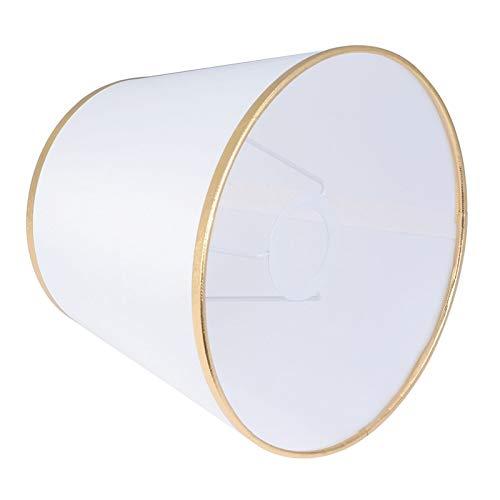 AleXanDer1 Tulipas para lamparas Pantalla De 2pc, Resistente Al Polvo Y Duradero, Pantalla, Accesorios For Lámpara De Mesa For El Hogar Y La Oficina (Body Color : Golden)