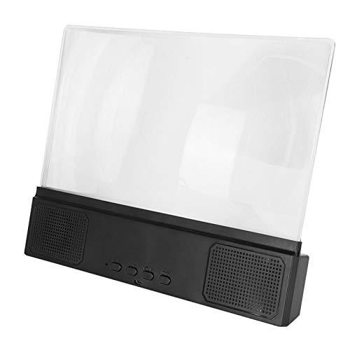 Socobeta 12in loupe Pratique amplificateur d'écran de compatibilité léger 2-3 Fois Large pour écran de téléphone Portable
