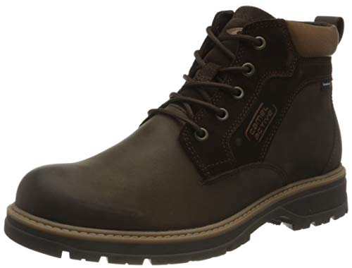 camel active Herren Gravity Mode-Stiefel, Dark Brown, 44 EU