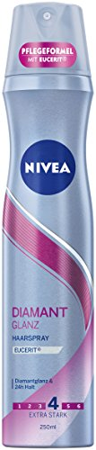 NIVEA Haarspray, Extra Stark, 250 ml Sprühdose, Diamant Glanz