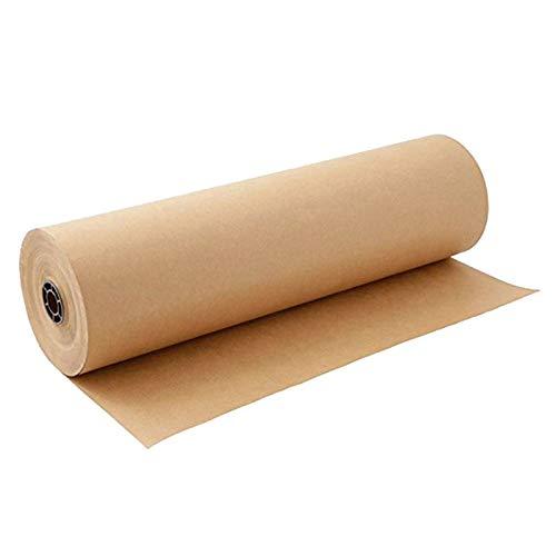 TOPSALE 60 MèTres Brun Kraft Rouleau de Papier d'emballage pour Mariage Anniversaire FêTe Cadeau Emballage Emballage Emballage Art Artisanat