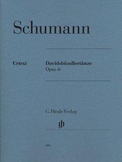 DAVIDSBUENDLERTAENZE OP 6 - arrangiert für Klavier [Noten / Sheetmusic] Komponist: SCHUMANN ROBERT
