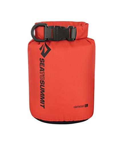 Sea to Summit Lightweight 70D Dry Sack-1 litros Saco Montañismo, Alpinismo y Trekking, Adultos Unisex, Rojo (Red), Talla Única