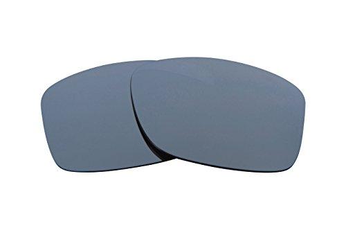 SEEK Ersatzgläser Kompatibel mit OAKLEY JUPITER Squared Polarisiert Iridium