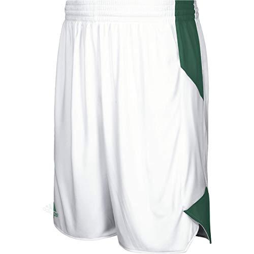 adidas Crazy Explosive Short Men's Basketball M White-Dark Green