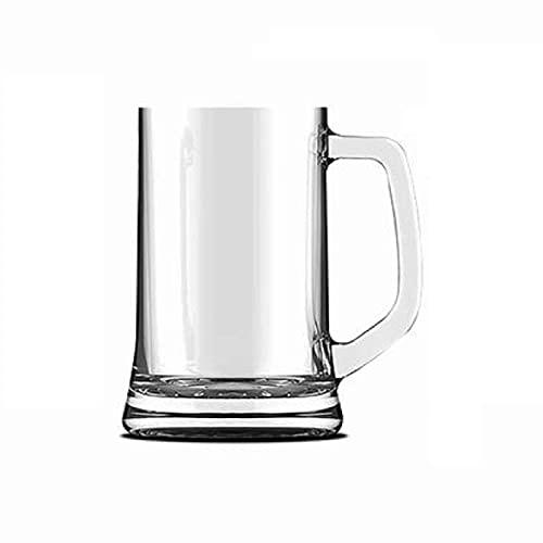 Pack 2 jarras de cerveza de cristal 30 cl apto para lavavajillas