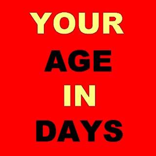 Age Calculator in DAYS