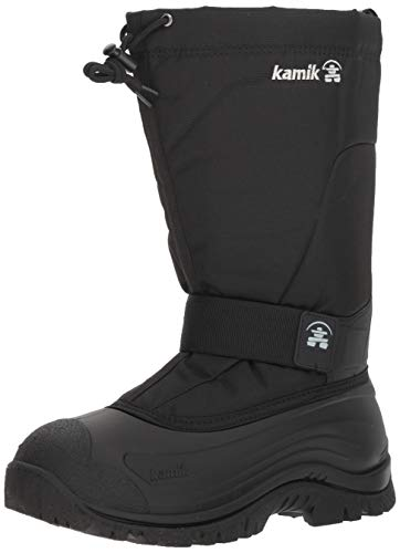 Kamik Men's Greenbay4 Wide Winter Boots Black 11