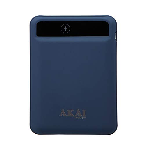 AKAI Power Buddy PB- 33 Capacity 10000mAh Mini Portable Charger External Battery Power Bank with Smart Digital LED Display Fast Charge, 1 yr Warranty …