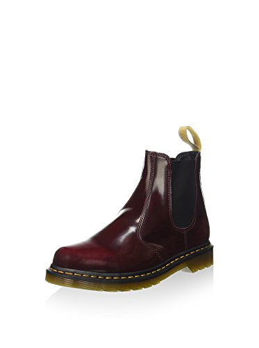 Dr. Martens Unisex-Erwachsene 2976 Smooth Chelsea Boots, Rot (Cherry Red), 38 EU