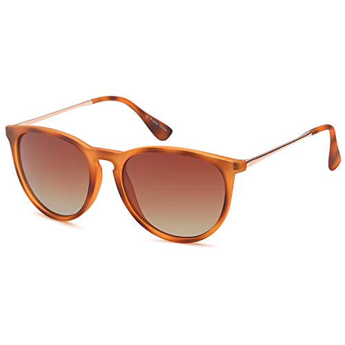 Gamma Ray Polarized Sunglasses for Women -, Brown, Size One Size Fits Most