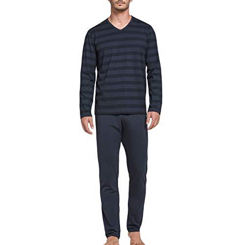 IMPETUS – Herren-Schlafanzug, lang, aus Baumwolle und Modal Whistler Gr. XL, grau