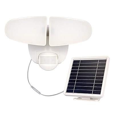 Solar Security Light Outdoor, 5000mAh 1000LM Solar LED Motion Sensor Light with 2 Adjustable Head, 5000K, Waterproof Flood Light for Backyard, Pathway & Patio