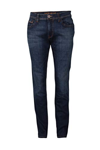 Camel Active Herren Straight Leg Jeans Hose 5-POCKET HOUSTON stone blue used W52/L34